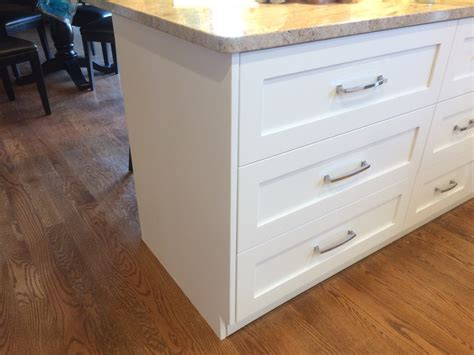 kitchen island drawers kitchen island overlay drawer stacks should end panels cover drawers panel cabinet