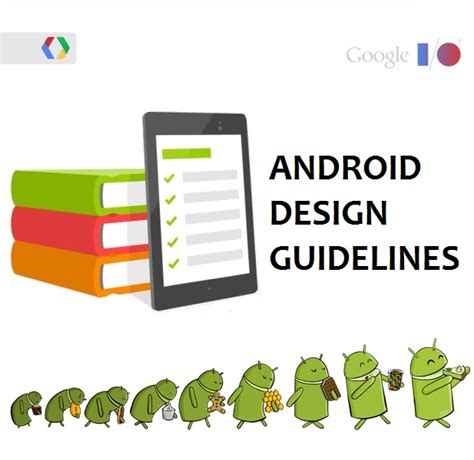 where do you start for developing beautiful android apps - Android Design Guidelines