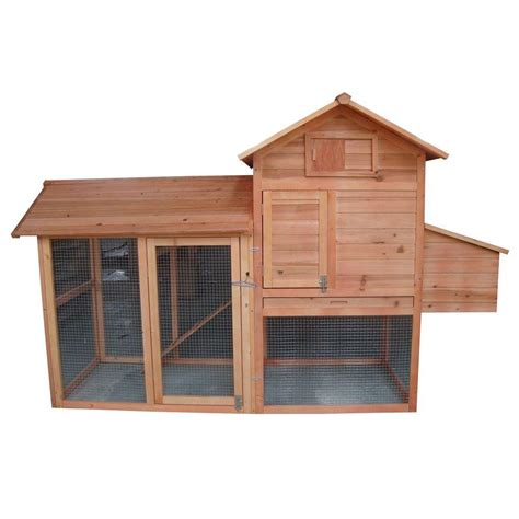 yard tuff chicken coop box with slide out pan ytf 833653cc