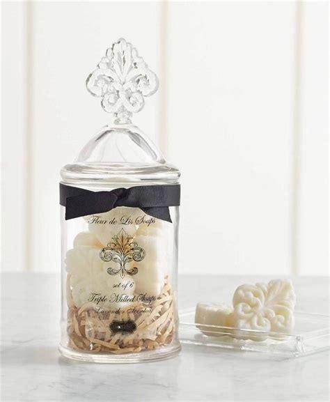 bathroom apothecary jar set de lis apothecary glass jar lavender soap bathroom 441m001