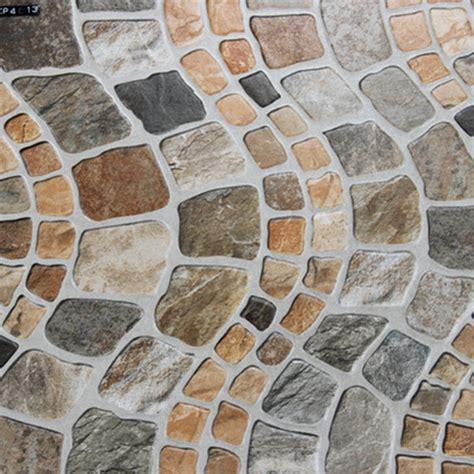 400x400mm Imitation Stone Veranda Floor Tile Outdoor