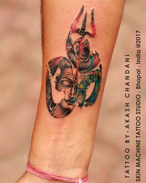 another tattoo another beautiful custom of lord shiva series by