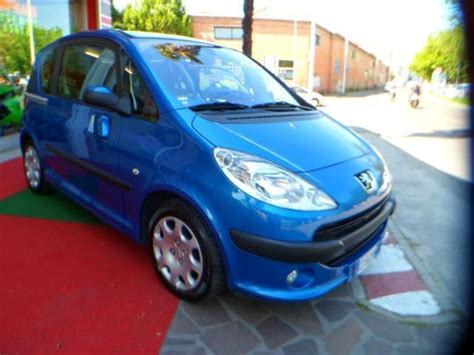 auto con porte scorrevoli sold peugeot 1007 1 4 con impianto used cars for sale