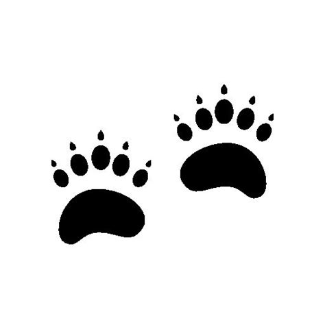 grizzly bear footprints michelle s style sj 230 len