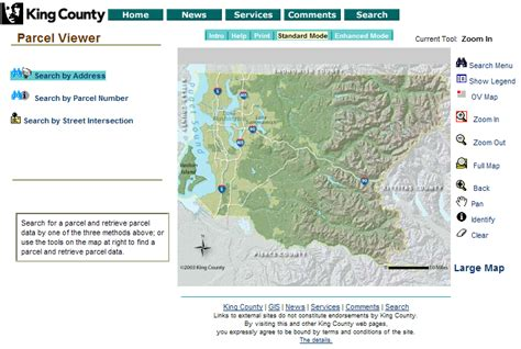 King County Property Records By Address Guided Tour King County S New Property Records