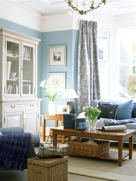 Blue Living Room by Blue In The Living Room Adorable Home