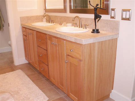 oak cabinets bathroom bathroom showcase cabinets by andy