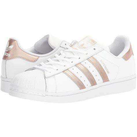 imagenes de los zapatos adidas nuevos adidas superstar blancas con rayas cobre para mujer 2017