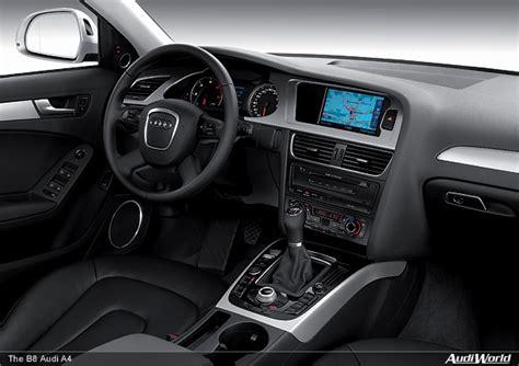 Audi B8 Interior by The Audi A4 Interior Audiworld