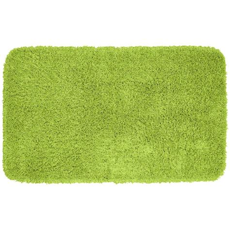 lime green rug garland rug jazz lime green 30 in x 50 in washable bathroom accent rug ben 3050 12 the home