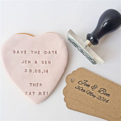 how to make your own save the date cards make your own edible save the date card by stomp sts