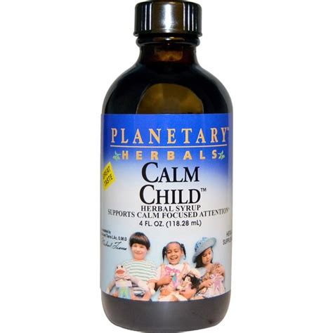 Calm And Detox Herb by Planetary Herbals Calm Child Herbal Syrup 4 Fl Oz