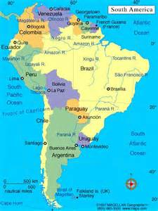 the south america of map maps and more maps