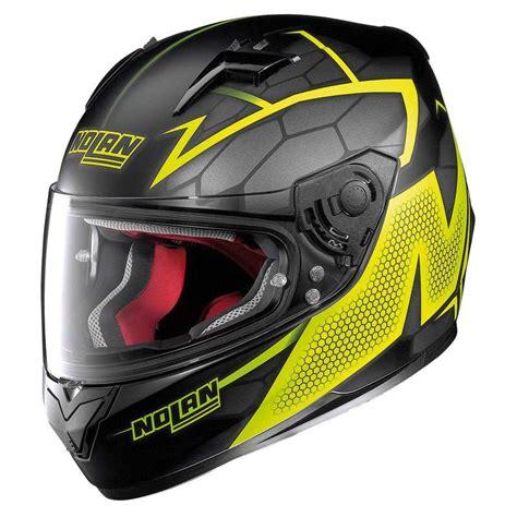 Motorradhelm Test Nolan by Nolan N64 Hexagon Yellow Motostorm