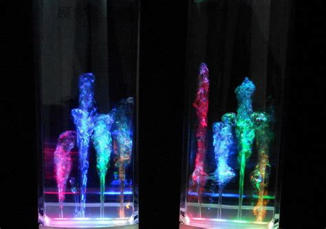 Speaker Multi Colour Led With Water Effect T3009 2 led water speakers