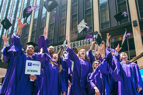 Nyu Mba Admissions Events by Graduation Nyu
