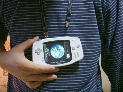 game boy case mod game boy advance iphone case mod