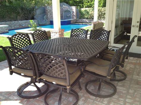 furniture outdoor patio furniture sets aluminum iron