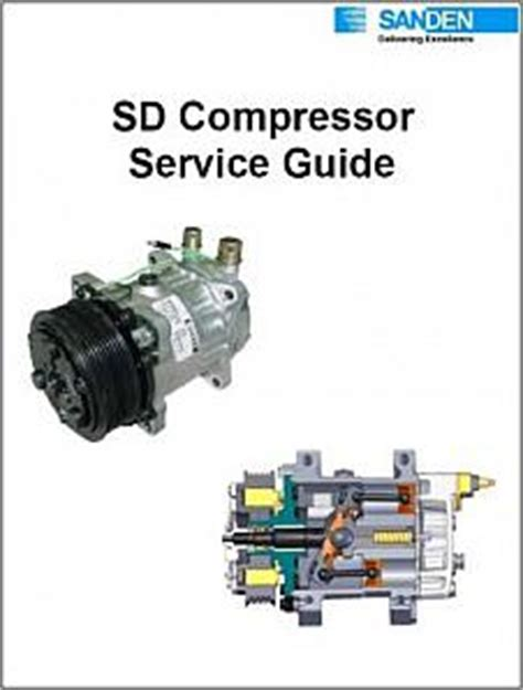 sanden compressor wiring diagram hvac compressor diagram