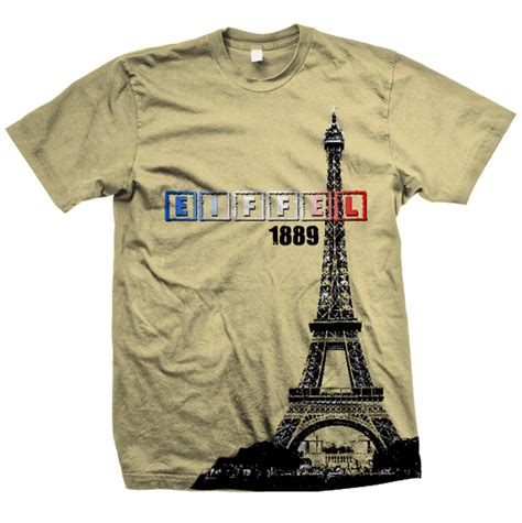 Kaos 3d T Shirt 3d Iwan Fals eiffel tower collections t shirts design