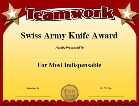 cool certificate templates employee awards 101 awards for employees