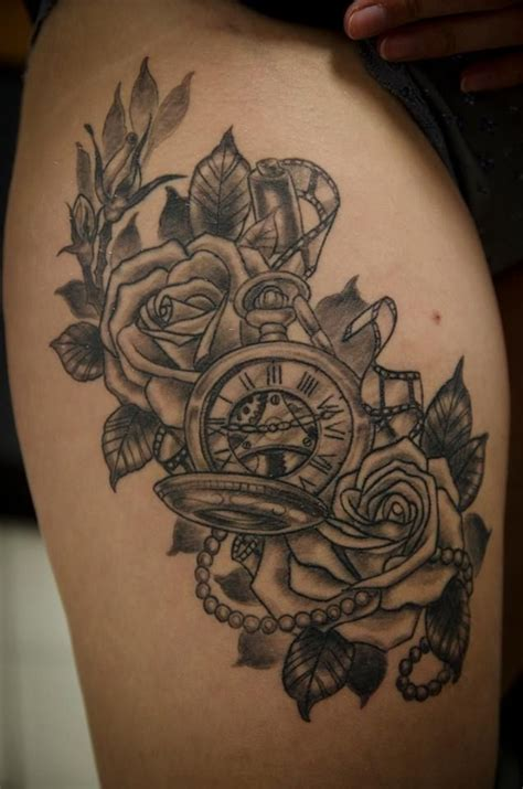time piece tattoo 17 best ideas about time on clock