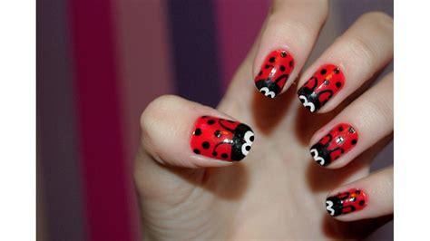 imagenes de uñas naturales decoradas con esmalte ultimo en u 241 as decoradas con esmalte rojo youtube
