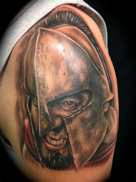 warrior tattoo meaning 25 best ideas about spartan helmet on