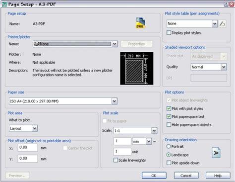 layout manager adalah cara setting page setup manager gambar teknik sipil