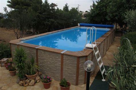 piscine da giardino fuori terra le piscine fuori terra in legno una scelta di stile piscine