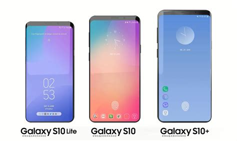 Samsung Galaxy S10 Models by New Concept Renders Give More About The Samsung Galaxy S10 Technobezz