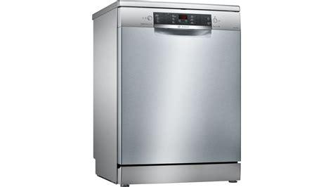 bosch kitchen appliances bosch 60cm series 6 anti fingerprint freestanding dishwasher dishwashers appliances