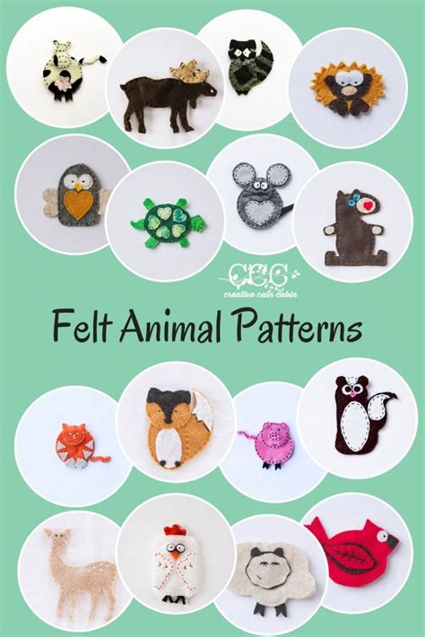 pattern for felt animals 566 best busy books quiet books for kids ideas