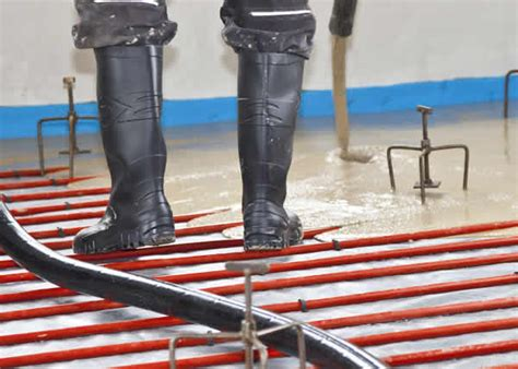 Fast Floors Fast Floor Screed Mobile Screed Factory Delivers Again For