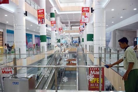 ace hardware rawamangun mengenal green pramuka square mall megah di tengah hunian