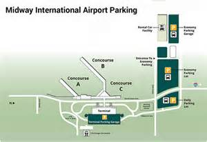 Chicago Midway Airport Map by Midway Airport Parking Guide Find Cheap Airport Parking