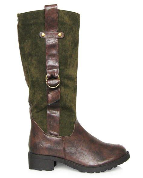 fc select vegan footwear vegan suede look knee high boots