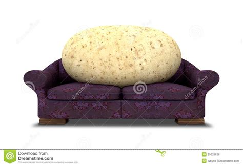 a couch potato couch potato royalty free stock image image 25525626