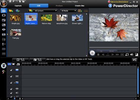 cyberlink video editing software free download full version cyberlink powerdirector 8 ultra free download full version