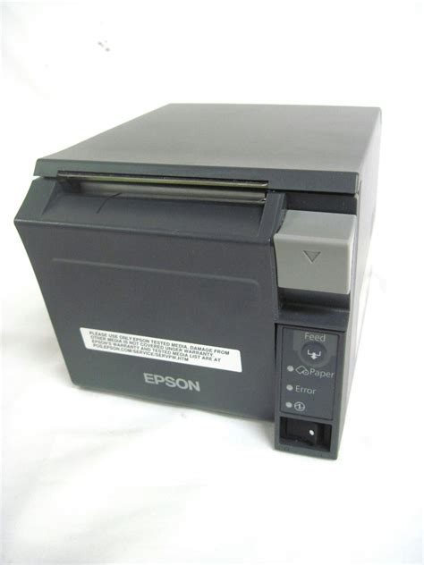 Epson Receipt Template by Epson Tm T70ii M296a Auto Cutter Usb Ethernet Pos Thermal