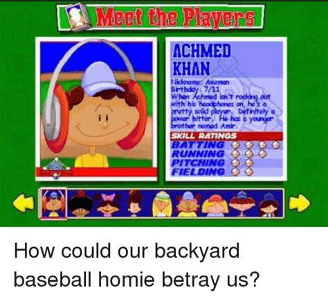 Backyard Baseball Meme 7 11 Memes Of 2016 On Sizzle