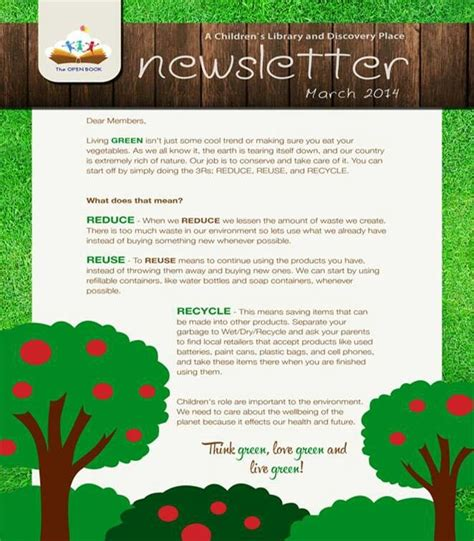 march newsletter template free 16 best newsletter ideas images on newsletter