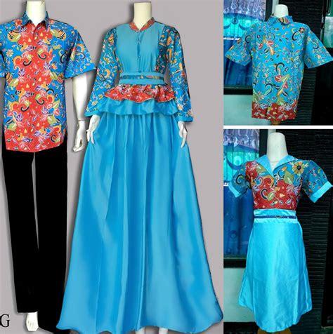 koleksi trend model baju batik sarimbit keluarga terbaru