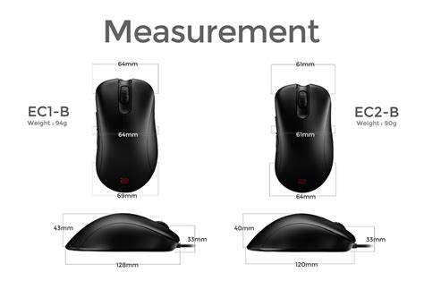 Benq Zowie Ec2b Gaming Mouse zowie ec2 b gaming mouse for esports