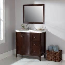 Home Depot Design A Vanity by St Paul Madeline 36 In Vanity In Chestnut With Alpine