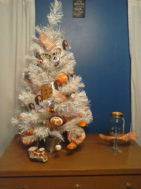 tennessee vols christmas tree christmas trees pinterest