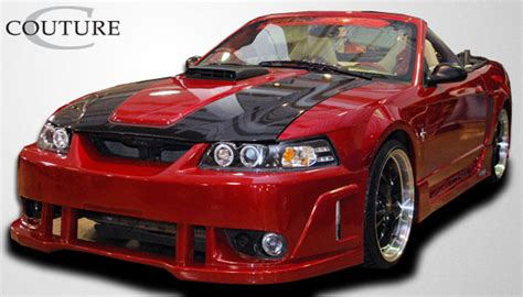 99 04 mustang side skirts 99 04 ford mustang special edition couture urethane side