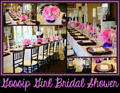 gossip girl themes party gossip girl inspired bridal shower bridal shower ideas