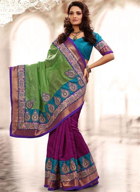 designing the beautiul beautiful designer bhagalpuri silk saree