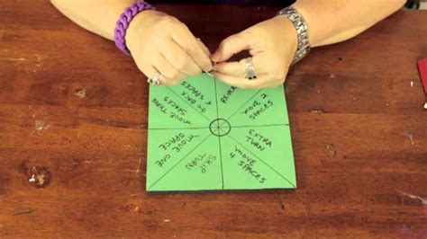 How To Make Spin Wheel Out Of Paper - how to make spinners with a paper clip bows craft